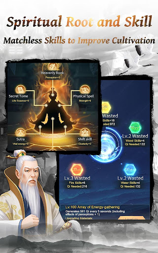 Immortal Taoists-Idle Game of Immortal Cultivation 1.4.4z screenshots 2