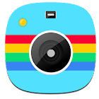 Style Camera Collage icon