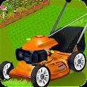 Kids lawn mower learning sim icon