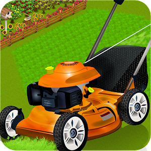 Kids lawn mower learning sim for PC and MAC