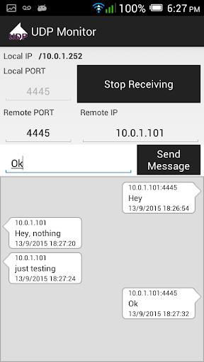 UDP Monitor