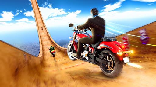 Superhero Bike Stunt GT Racing - Mega Ramp Games 1.3 screenshots 5
