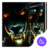 Roaring Wolf APUS Launcher Theme Android APK Download Free By Cool Theme Team
