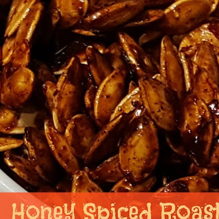 Roasted Honey Spiced Pumpkin Seeds