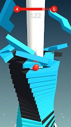 Stack Ball - Blast through platforms APK screenshot thumbnail 7