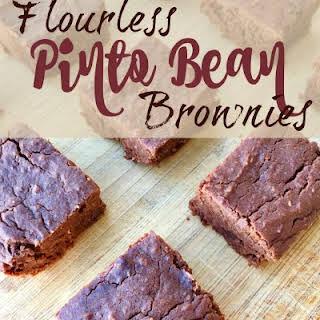 Flourless Pinto Bean Brownies.