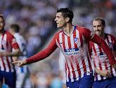 Atlético Madrid blijft na moeizame zege in het spoor de leiders