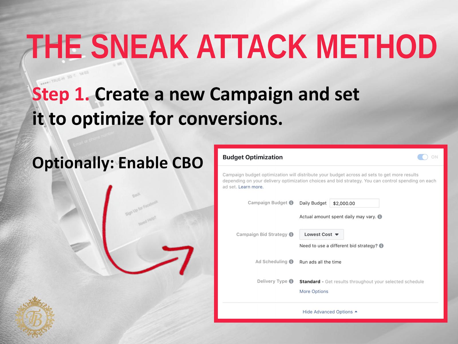 Создание рекламной кампании на Facebook
