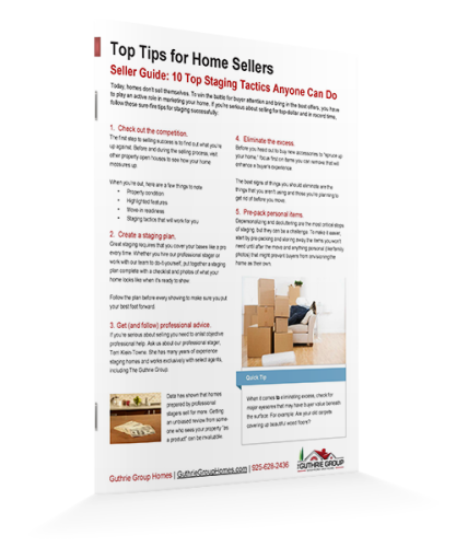Top Home Staging Tips