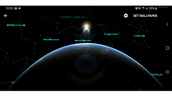 Earth Moon Parallax 3d Live Live Wallpaper For Pc