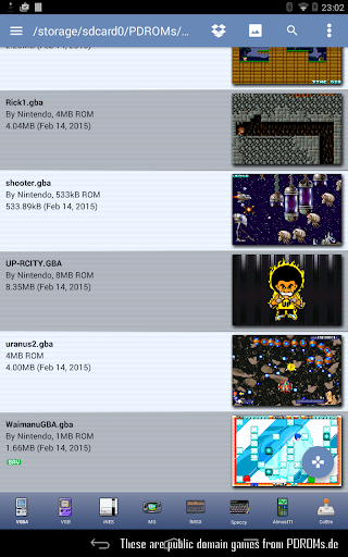 VGBAnext - Universal Console Emulator 6.4.1 screenshots 8