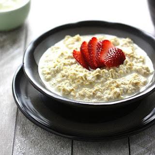 Bircher Muesli with Strawberries