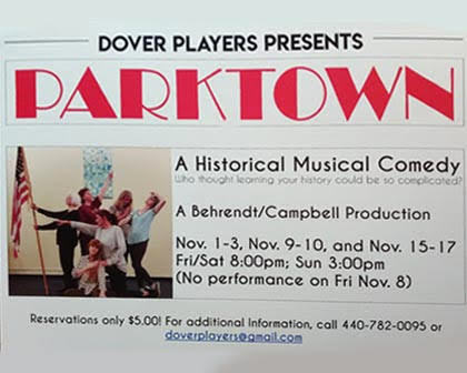 PARKTOWN – A Historical Musical Comedy