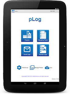 pLog Tablet- screenshot thumbnail