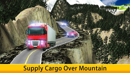 Lorry Truck Driver Cargo Free apk screenshot 10