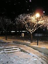 Снится снег зима за облаками