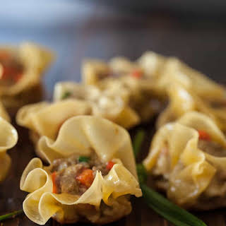 Curried Beef Dumplings.