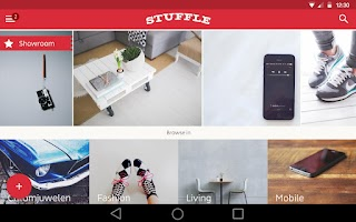 Screenshot of STUFFLE the mobile flea market