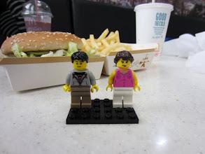 Photo: Siguiendo la tradición: Comida en un McDonald's