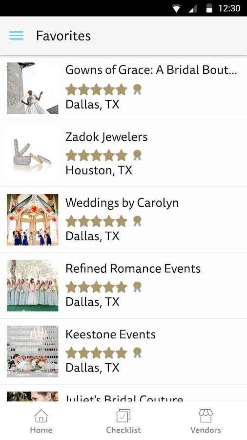 Wedding Planner - The Knot- screenshot