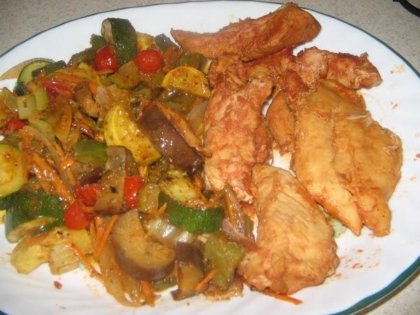 Chicken  Crockpot Tenders Recipe