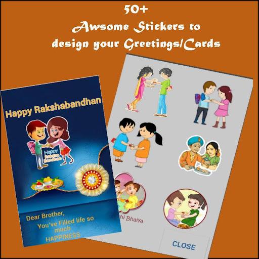 Rakhi Greetings & Rakhi Wishes 1.1 screenshots 2