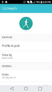App LG Health Agent APK for Windows Phone