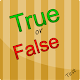 True or False - New version (game)