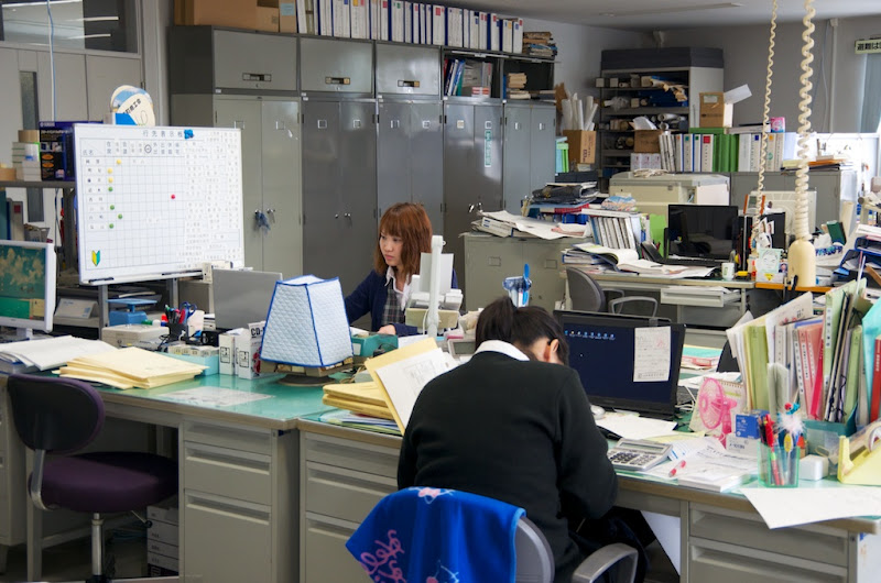 Photo: 土地改良区事務所風景