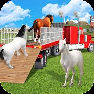 Horse Transport Truck Sim 19 -Rescue Thoroughbred APK icon