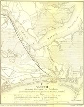 Photo: Sketch showing the route to Newbern, pursued by the Burnside Expedition, March 13 & 14, 1862. Report of Maj. Gen. J.G. Foster to the Committee on the Conduct of the War.