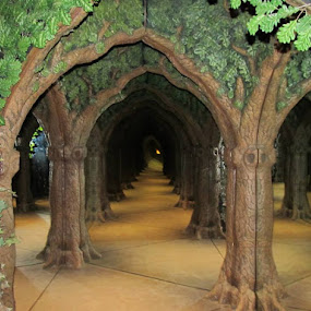 by Maricor Bayotas-Brizzi - City,  Street & Park  Amusement Parks ( secret, fantasy, secret garden, secret path, secret door,  )