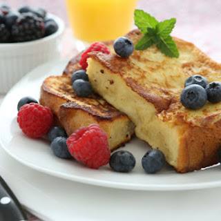Sprouted Bread French Toast.