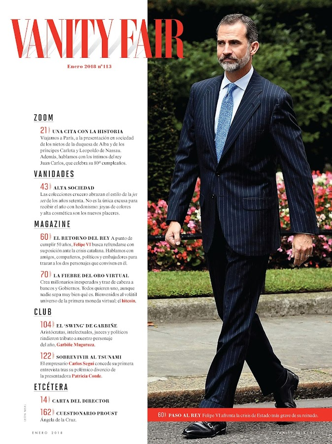 Vanity Fair España- screenshot