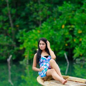 vacation by Ifan Deviandri - People Portraits of Women