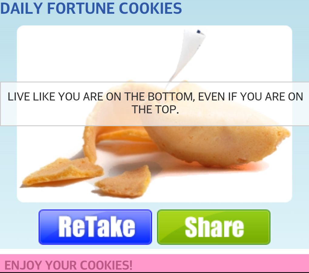 Fortune Cookies- screenshot
