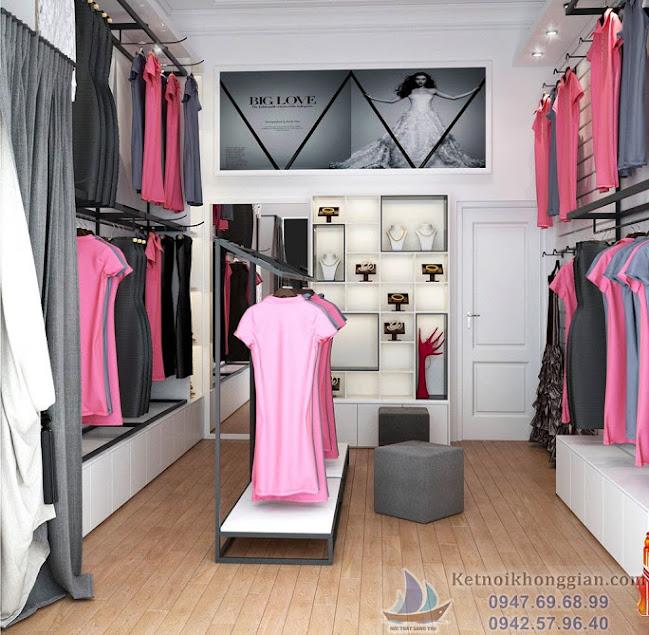 thiết kế cửa hàng váy dạ hội nhỏ