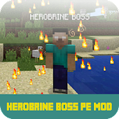 Mod Herobrine Boss For MCPE
