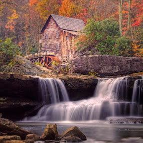 Babcock State Park Mill by Patrick Morgan - Landscapes Travel