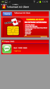 Telkomsel AS Client screenshot 7
