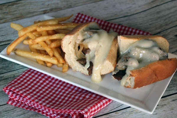 Add your meat to the bun, top with cheese. You may want to microwave...