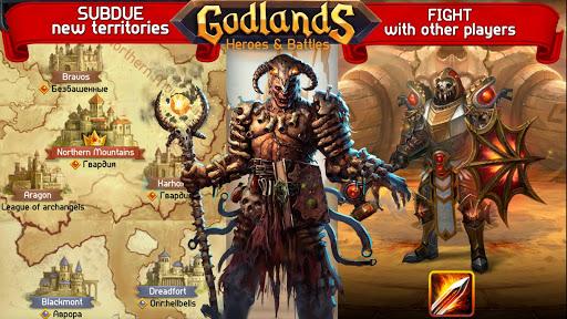 Godlands RPG - Fight for Throne : Legendary Story apkdebit screenshots 7