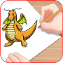 How to draw Dragons APK icon