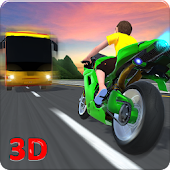 Kids School Highway Traffic Bike Racing