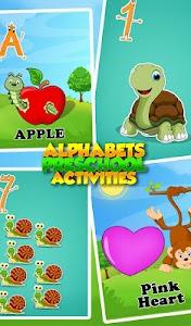 Alphabets Preschool Activities v1.0.0