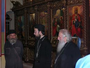 Photo: Fr. Gerasimos, the caretaker of the monastery