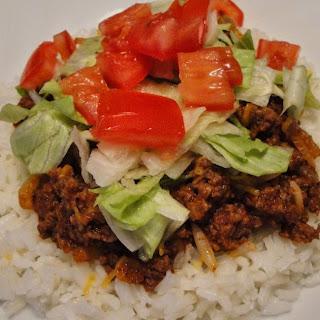 Taco Rice.