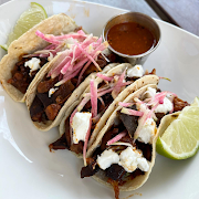 Red Chile Vegetable Taco