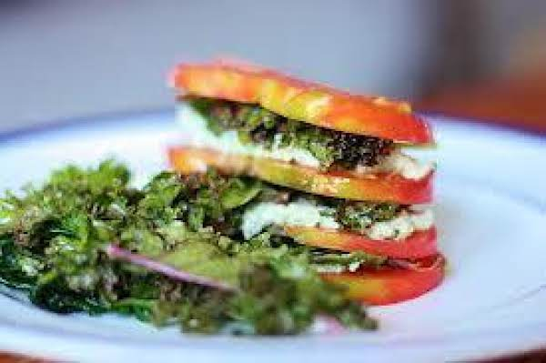 Fresh Tomato Napoleon Recipe