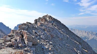 Photo: Summit approach.
